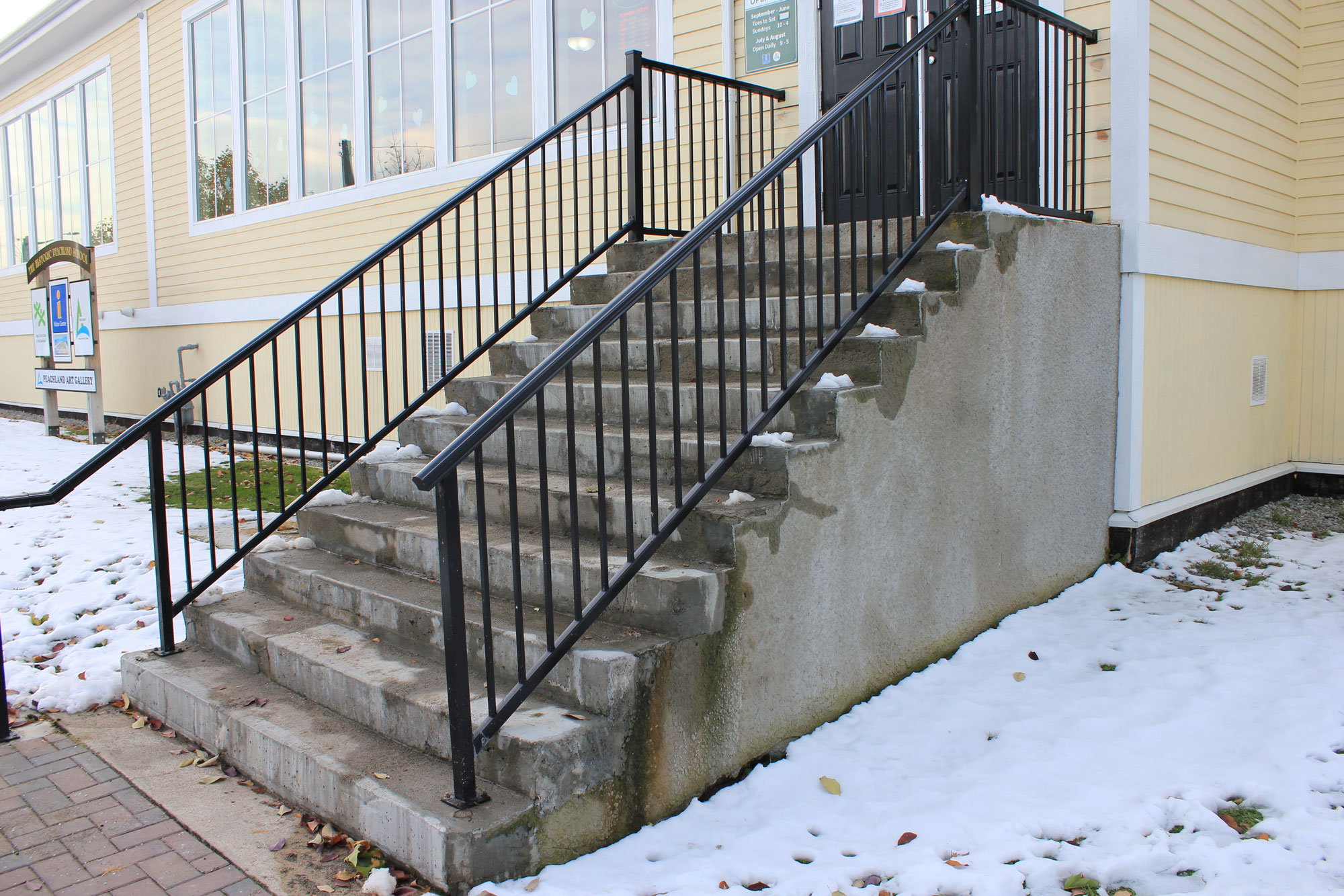 Inaccessible Stairs